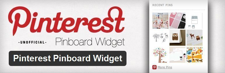 [Plugin WordPress] Pinterest Pinboard Widget [1]